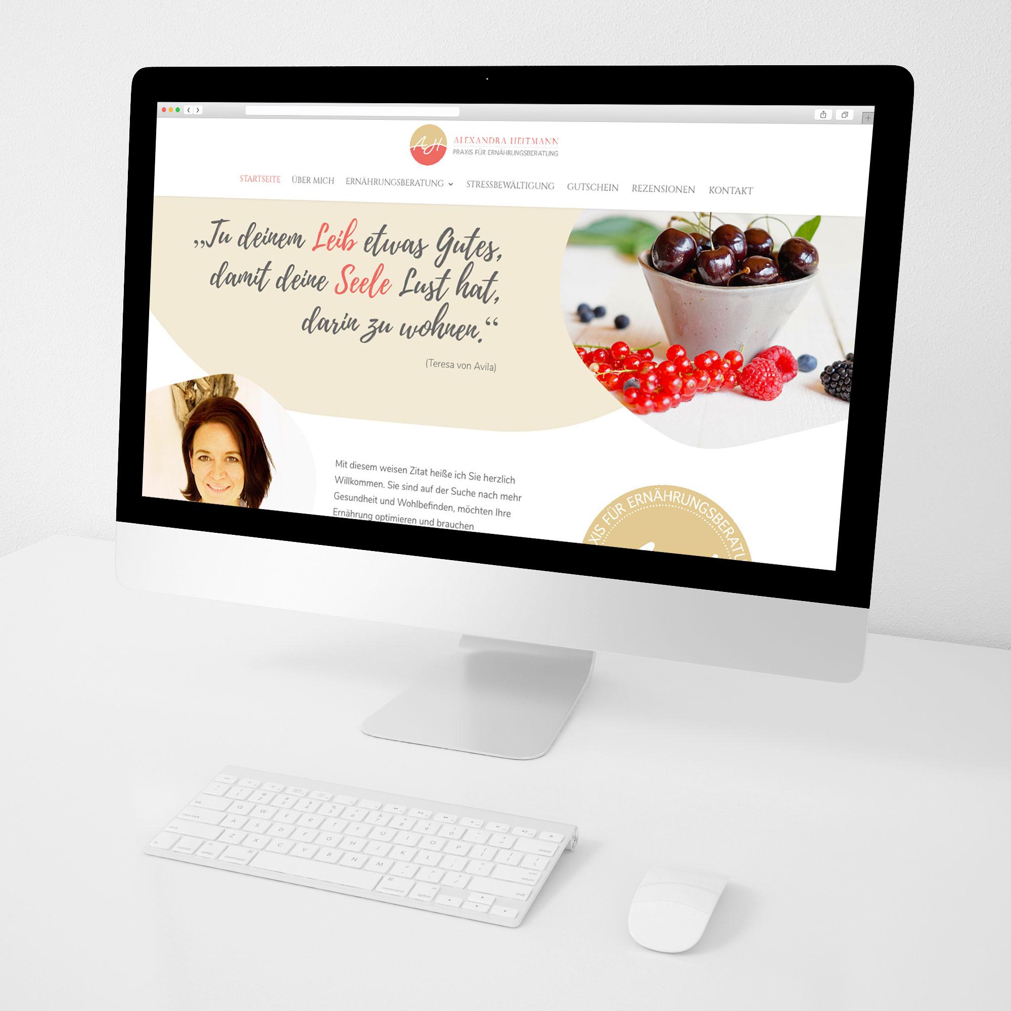 Alexandra Heitmann Webdesign