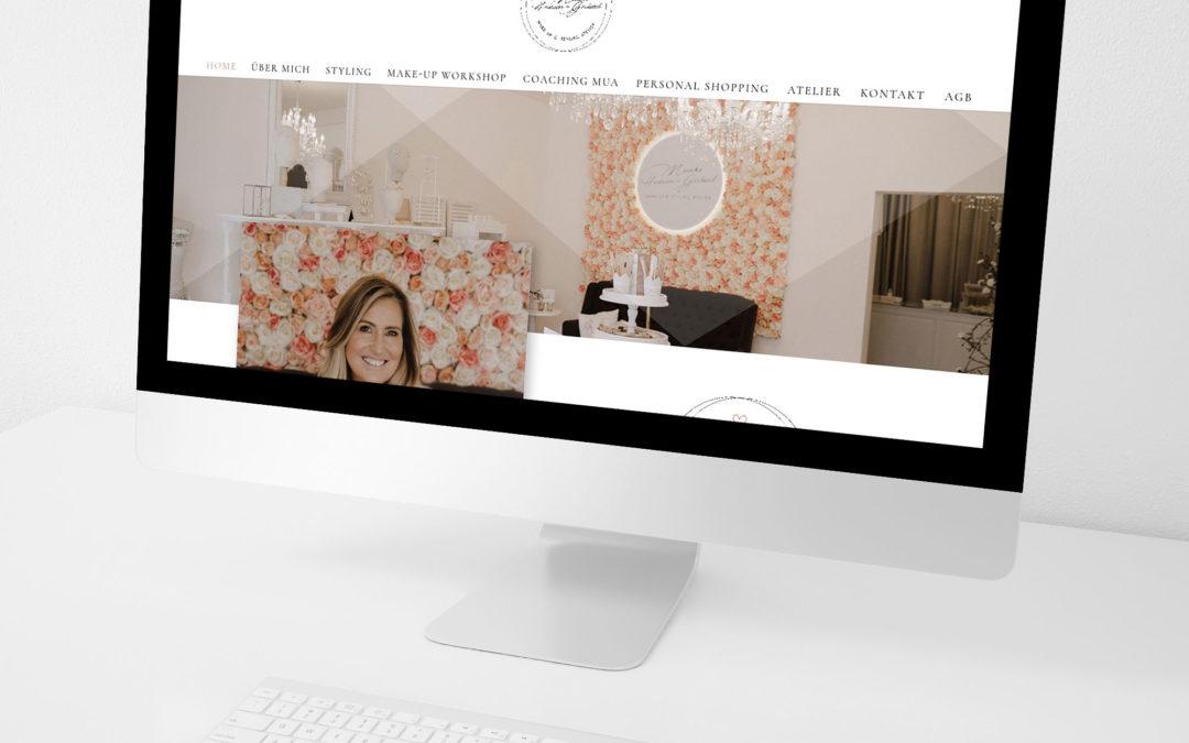 Webseite Styling Monika